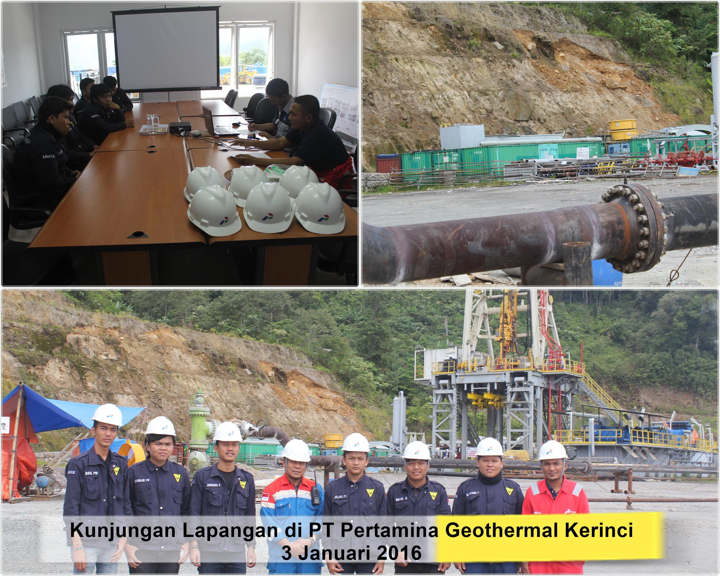 Kunjungan Geotermall di Kerinci