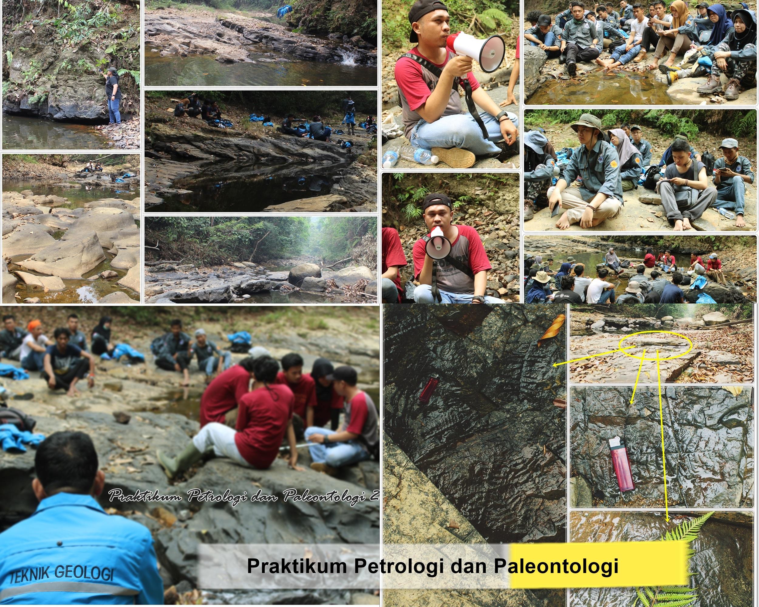 Praktikum Petrologi dan Paleontologi Teknik Pertambangan Universitas Jambi